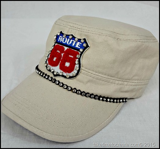 route 66 cadet hat side
