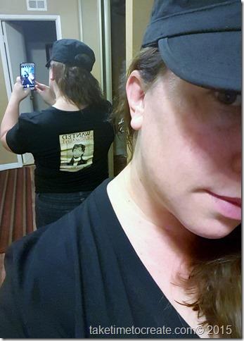 DIY Tangled t shirt
