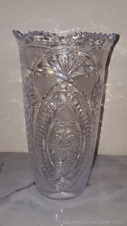 Paint A Plastic Dollar Store Vase With Nail Polish Take Time To Create
