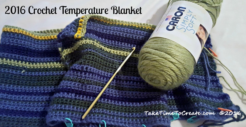 40 Crochet Temperature Blanket Take Time To Create Impressive Crochet Temperature Blanket Pattern
