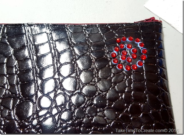DIY Rhinestone Clutch