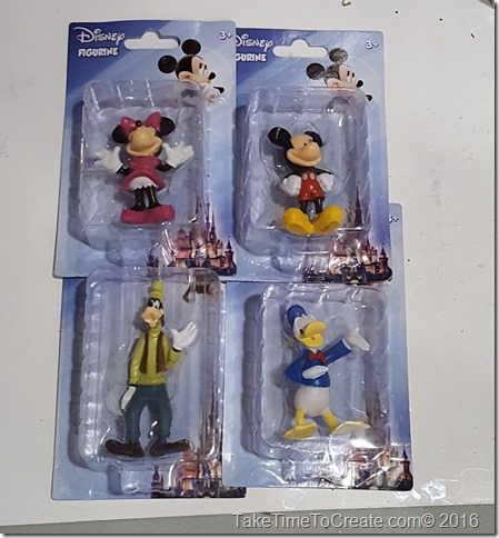 DIY Disney Action Figures from the Dollar Store