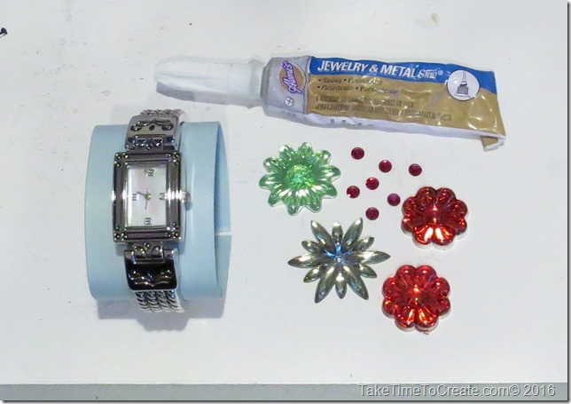 DIY Sparkle Watches
