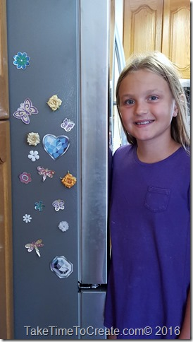 DIY Locker Magnet