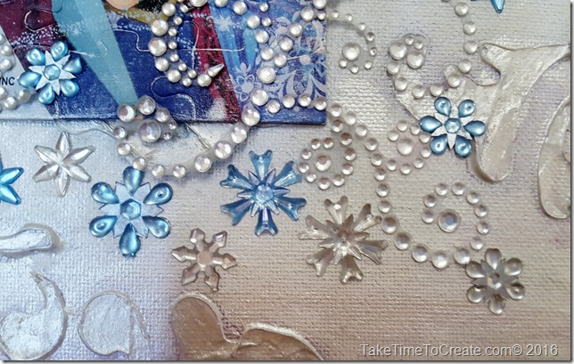 Disney Frozen Mixed media Canvas
