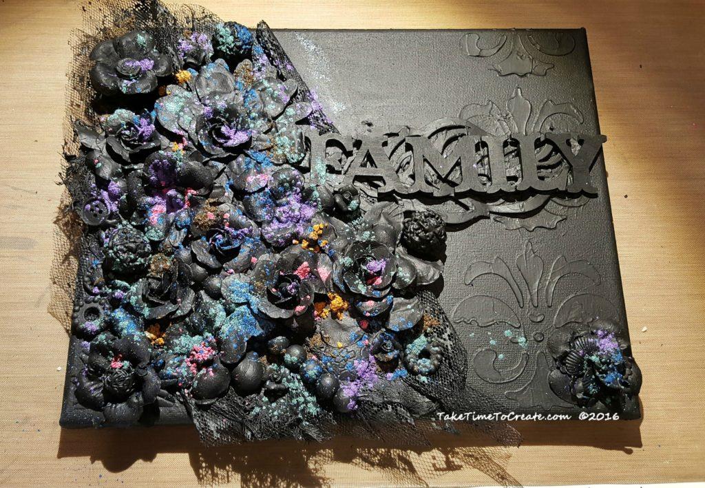 add-mica-powder-to-canvas
