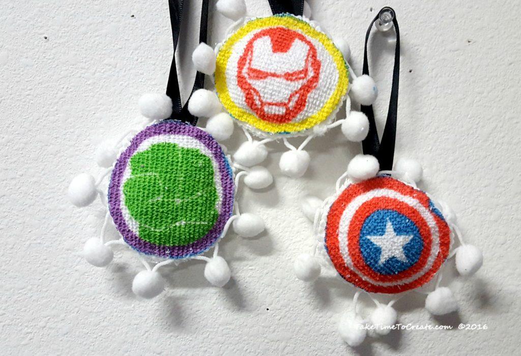 Avengers ornaments