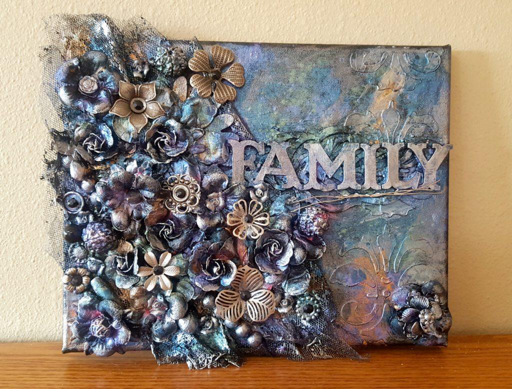 family-canvas-mixed-media
