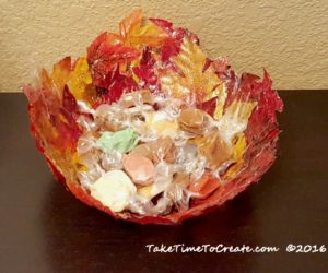 add-candy-to-leaf-bowl