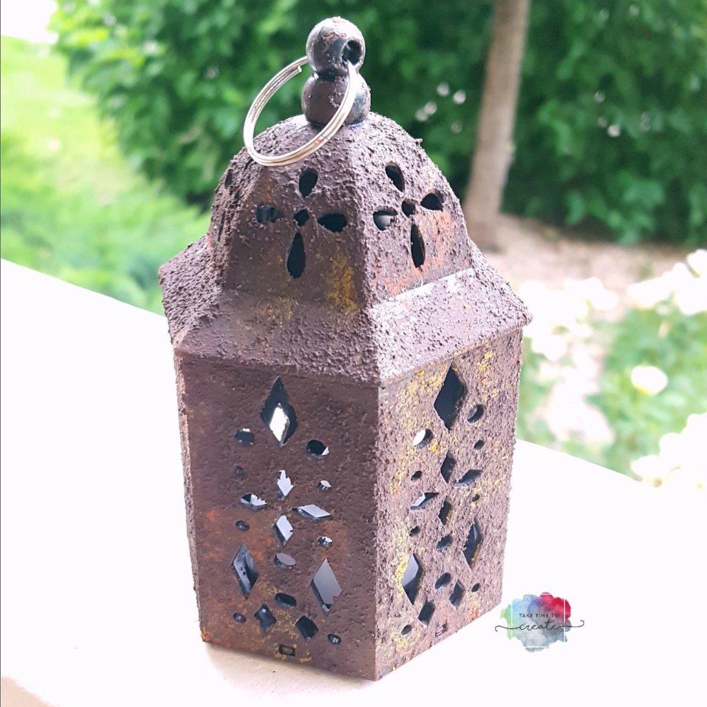 rust lantern