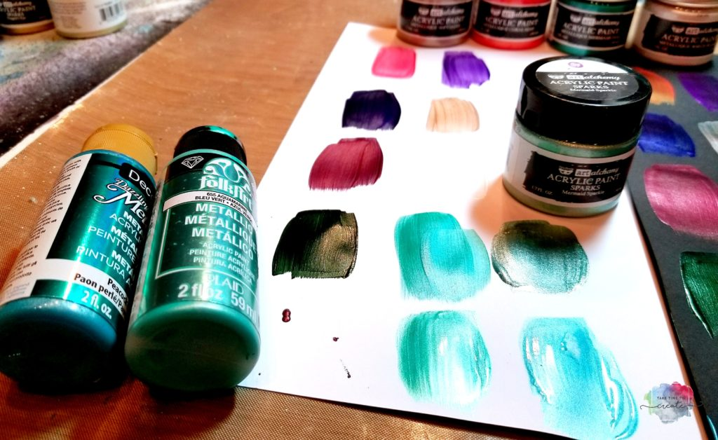 Metallique paints