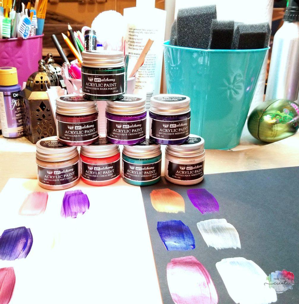 Metallique Paints