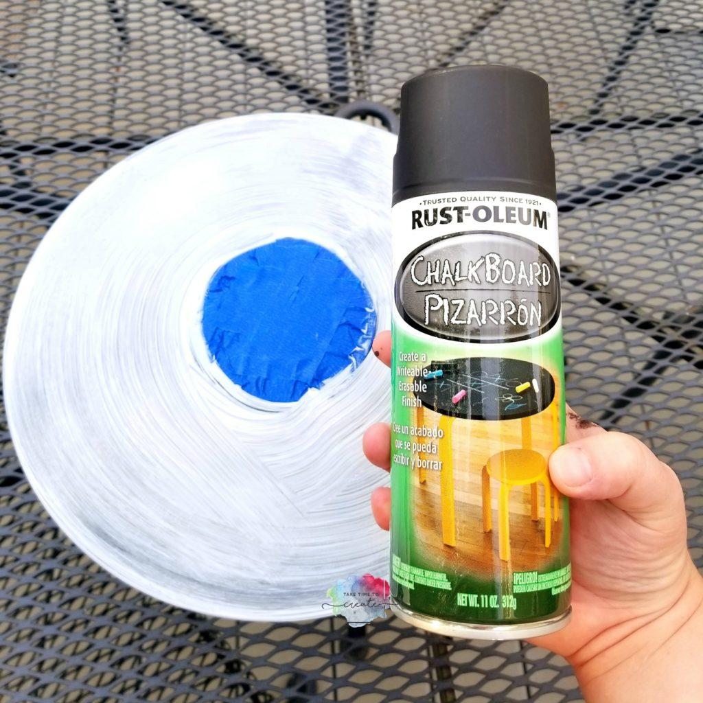 DIY Chalkboard record