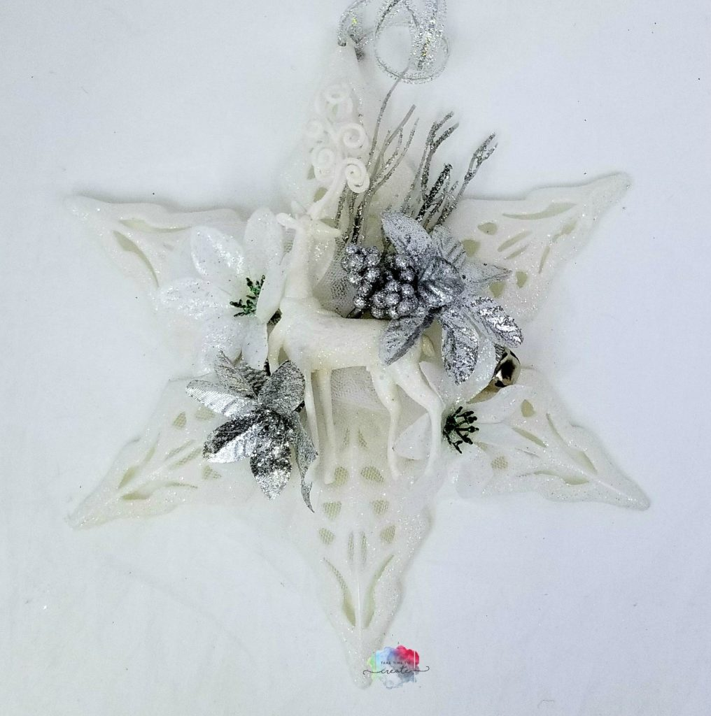 DIY Dollar Tree Snowflake Decor