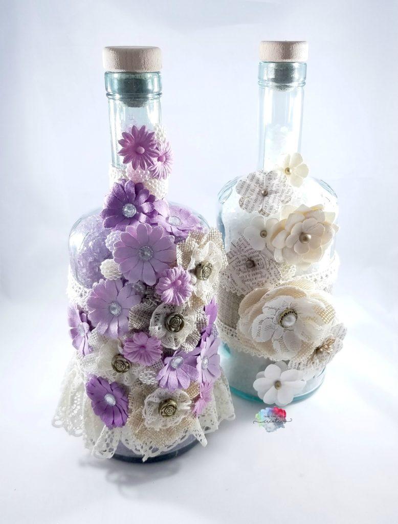 altered bottle for bath salts