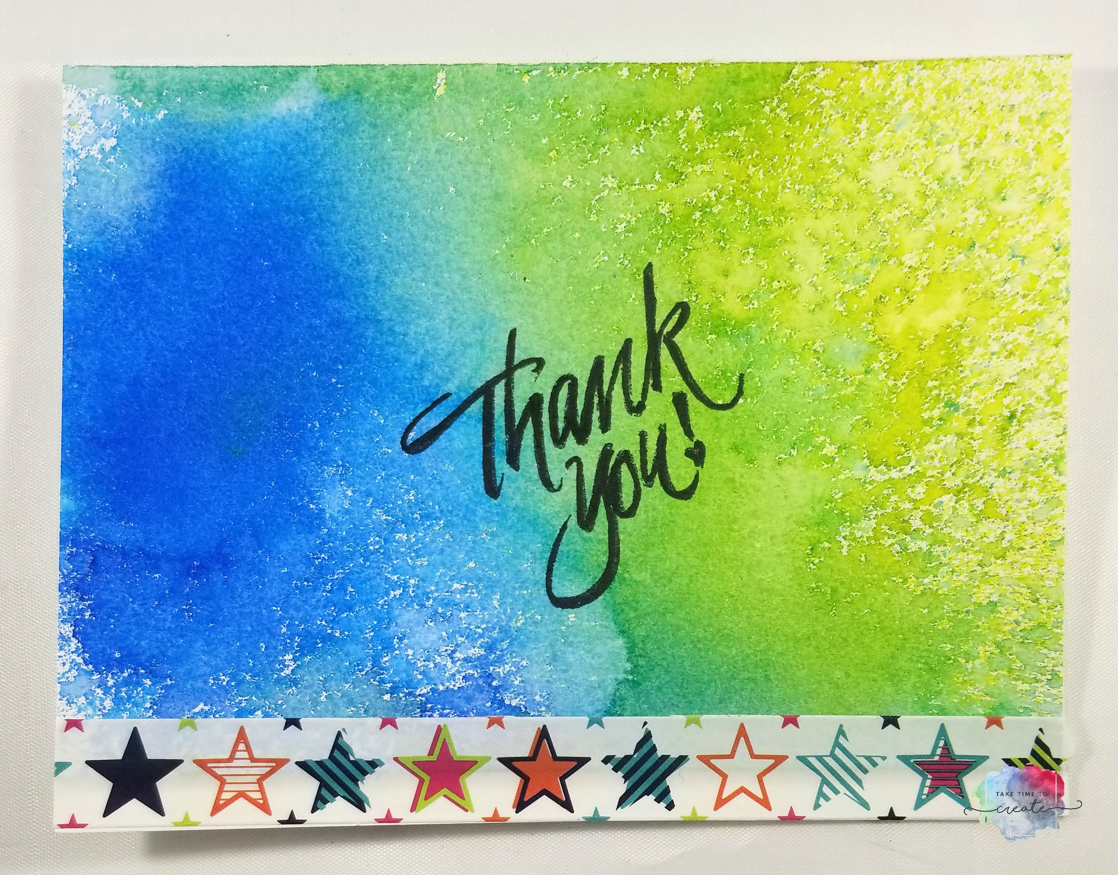 Easy Diy Thank You Cards Take Time To Create