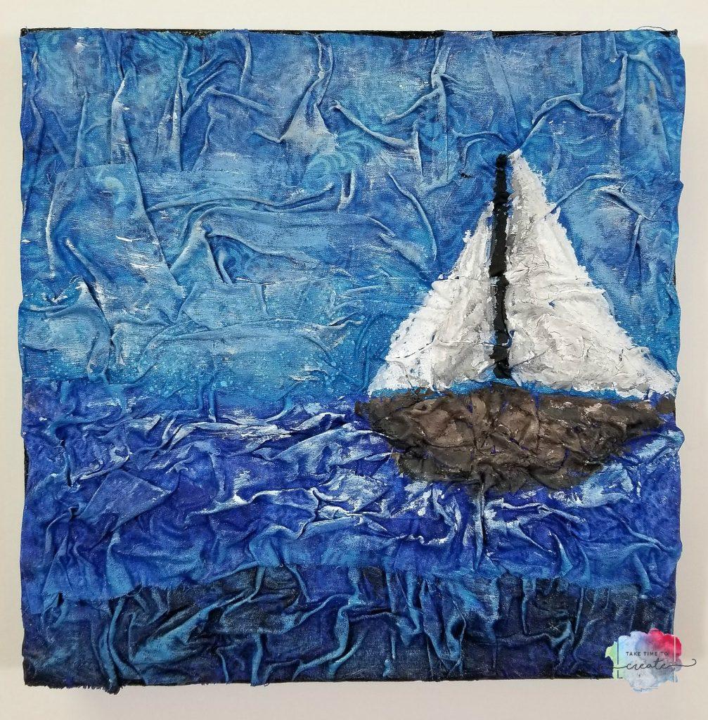 sailboat canvas