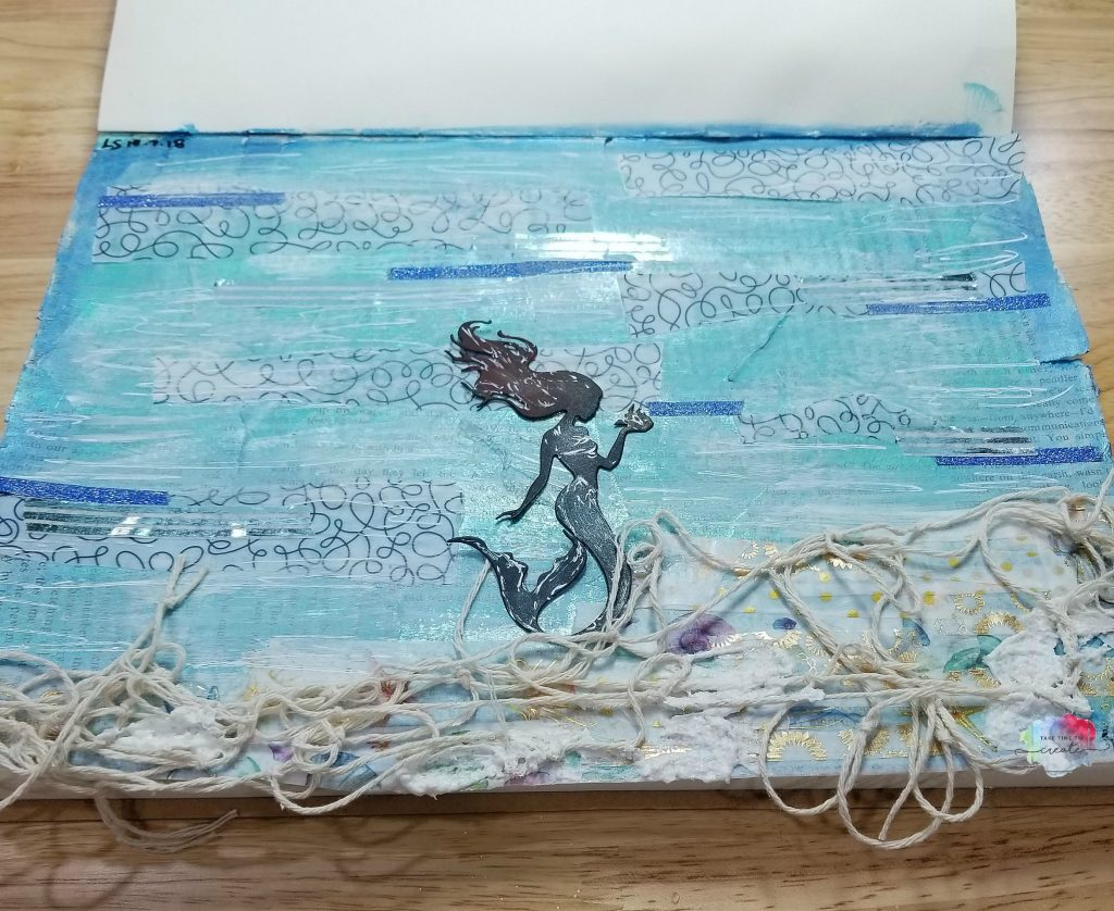mermaid journal page