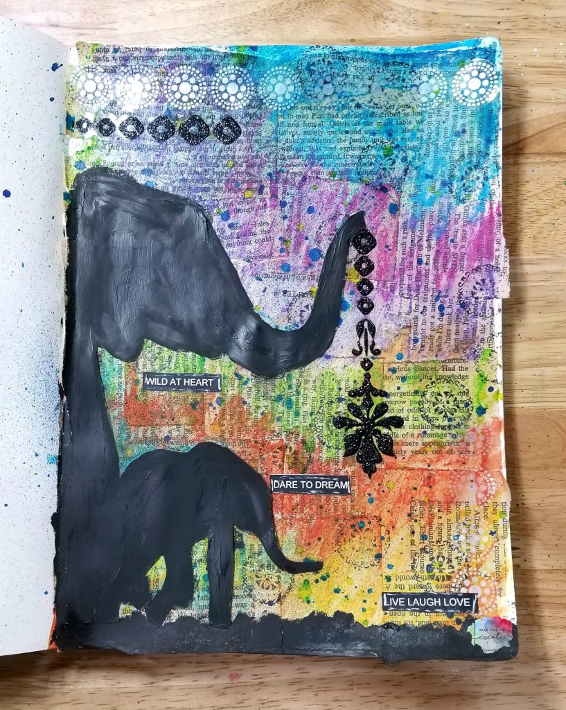 elephant art journal page